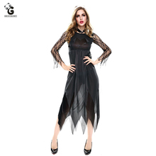 Horror Zombie Bride Dress Halloween Costume For Women Vampire Devil Cosplay Ghost Ladies Fancy Party Dresses Sexy