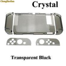 Interruptor rígido Capa de Proteção PC Para Nintend NS NX Caso Concha de Cristal Transparente Acessórios Do Console do Controlador Com Suporte Casos