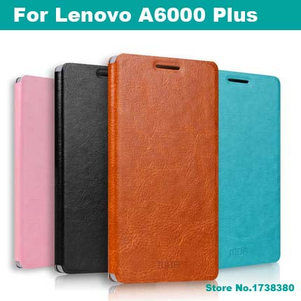 Lenovo A6000 Plus Leather Case Cover Luxury Leather Flip Phone Cover Protective Case For Lenovo A6000 Plus
