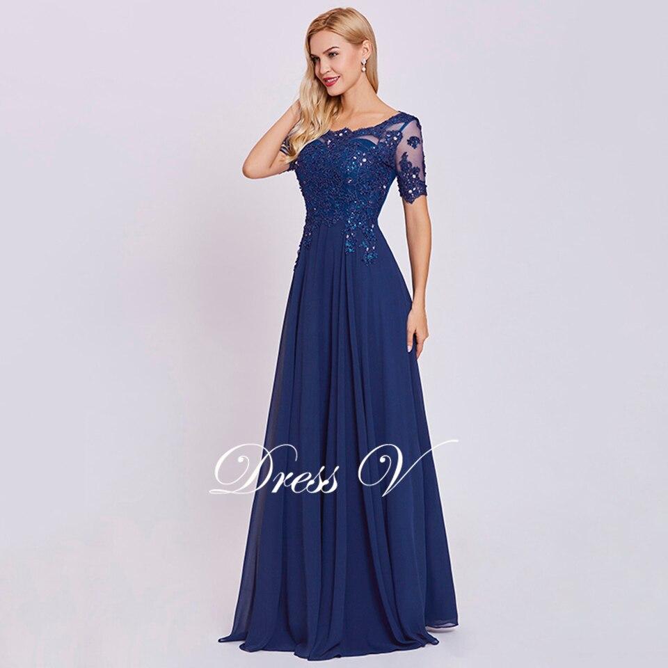 Vestido De Fiesta Largo Azul