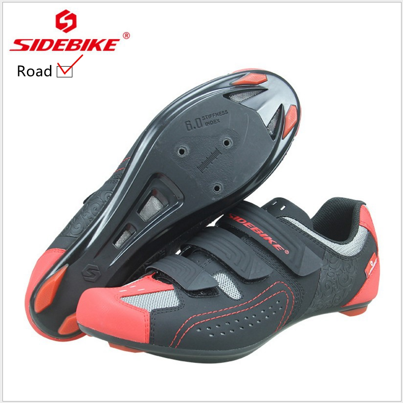 SIDEBIKE 2018 Ultralight Men's Self-Locking Cycling Shoes Road Bike Shoes Breathable Bicycle Lock Sneakers Zapatillas Ciclismo цена