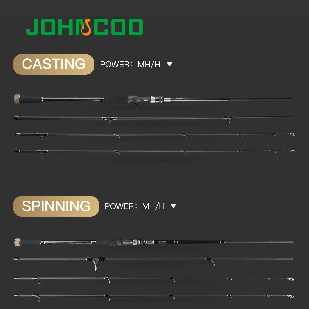Carbon Fishing Rod 2 7m 3 0m M MH Power 10 45g Baitcasting Rod Sea Bass