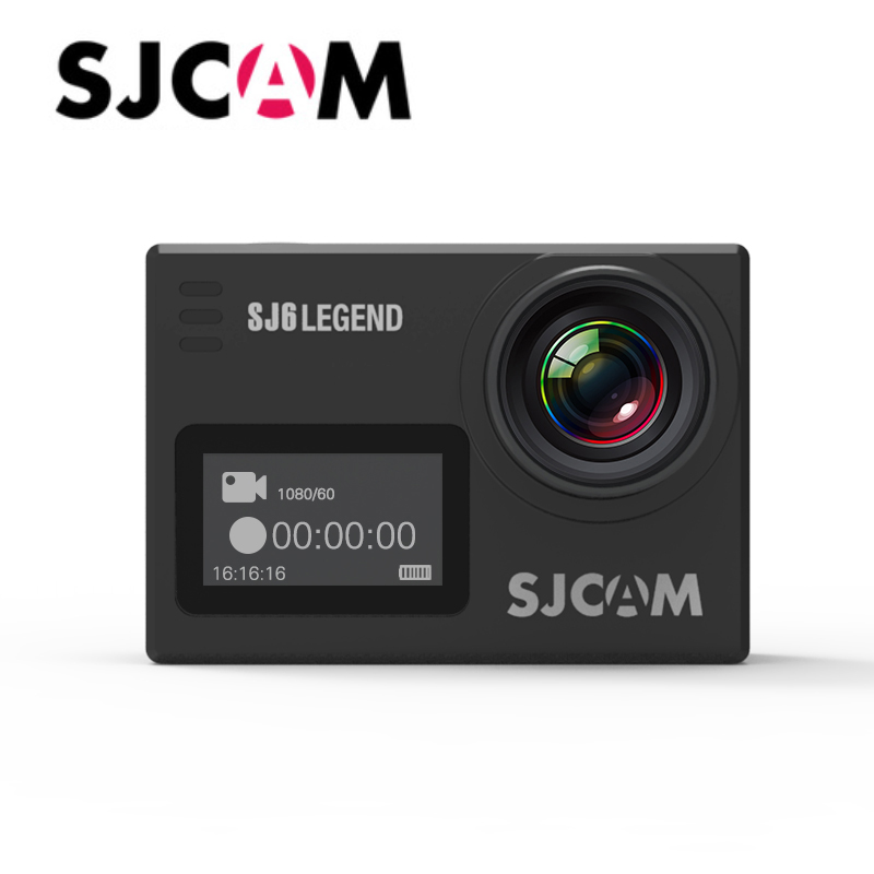 "Original SJCAM SJ6 Legend Sports DV Notavek 96660 4k@24fps Gyro Stabilization 2.0"" Screen Waterproof Action Camera Support Wifi"