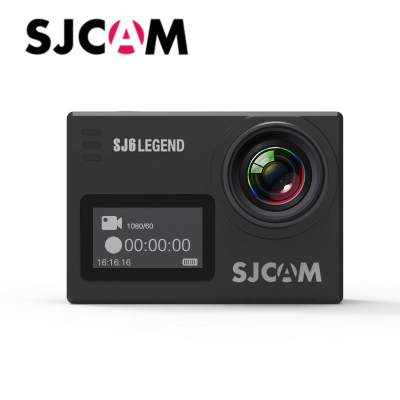"Original SJCAM SJ6 Legend Sports DV Notavek 96660 4k@24fps Gyro Stabilization 2.0"" Screen Waterproof Action Camera Support Wifi"