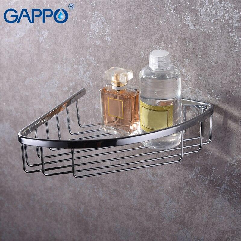Bad Hardware Gappo Bad Hardware Sets Raum Aluminium Wand Montiert Fön Halter Rack Schwarz Halter Lagerung Rack Bad Zubehör Badezimmerarmaturen