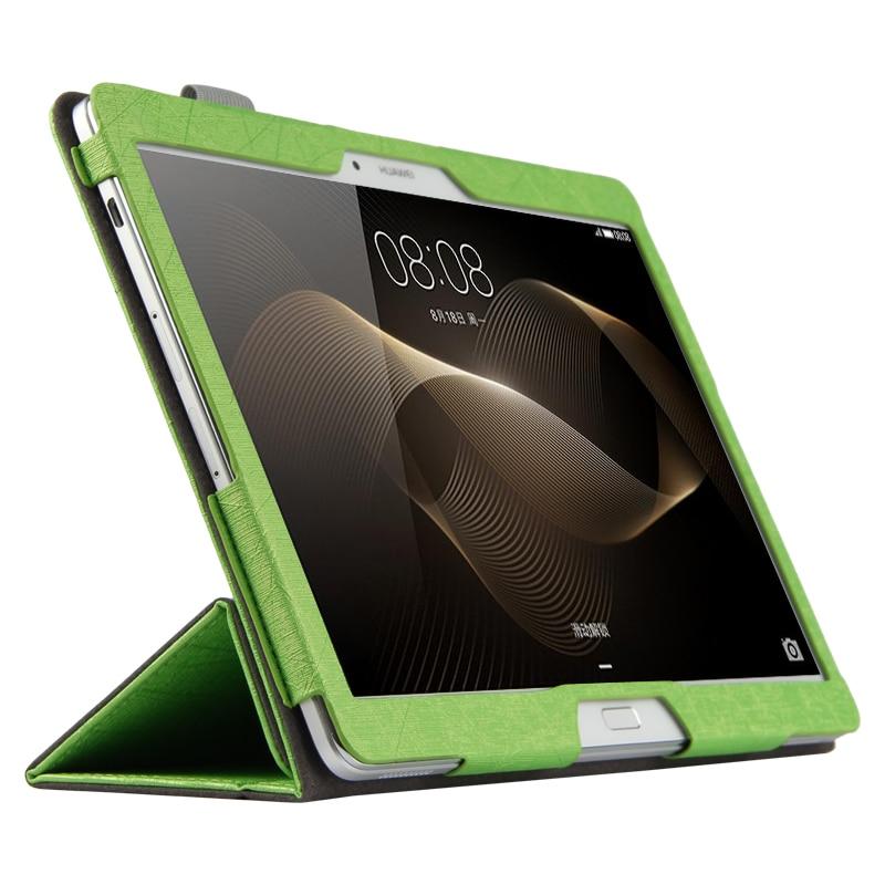Случая высокого Качества Мода Для Huawei MediaPad 10.0 M2-A01W/M2-A01L 10.1 дюймов Tablet чехол + Пленка + Стилус
