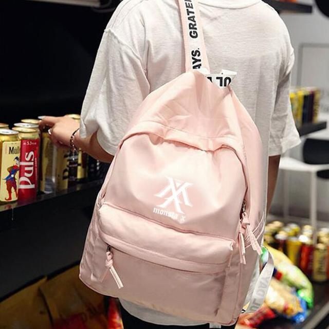 Monsta X Cotton & Vinyl Backpack