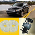 2pcs Power Front /Rear Shock Suspension Cushion Buffer Spring Bumper For Jeep Compass