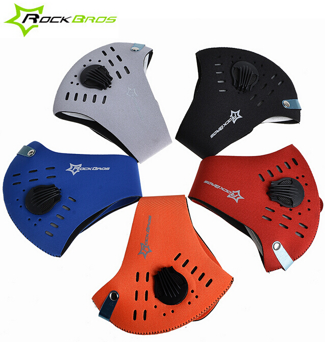 RockBros Bike Cycling Face Mask Filter Anti dust Haze Mouth Muffle Face Cover