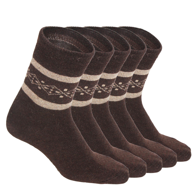 Wool & Cashmere Blend Thermal Men's Socks