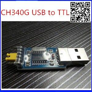 5pcs free shipping USB to TTL converter UART module CH340G CH340 3.3V 5V switch best quality