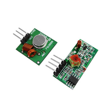 1pair RF wireless receiver module & transmitter module board for super regeneration 315/433MHZ DC5V (ASK /OOK) image