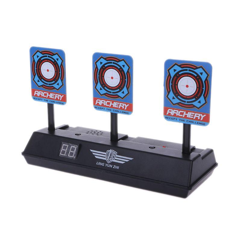 Inteligente Auto-Reset puntuación electrónica Target para Nerf n-strike Elite/Mega/Rival serie sonido Luz objetivo de puntuación