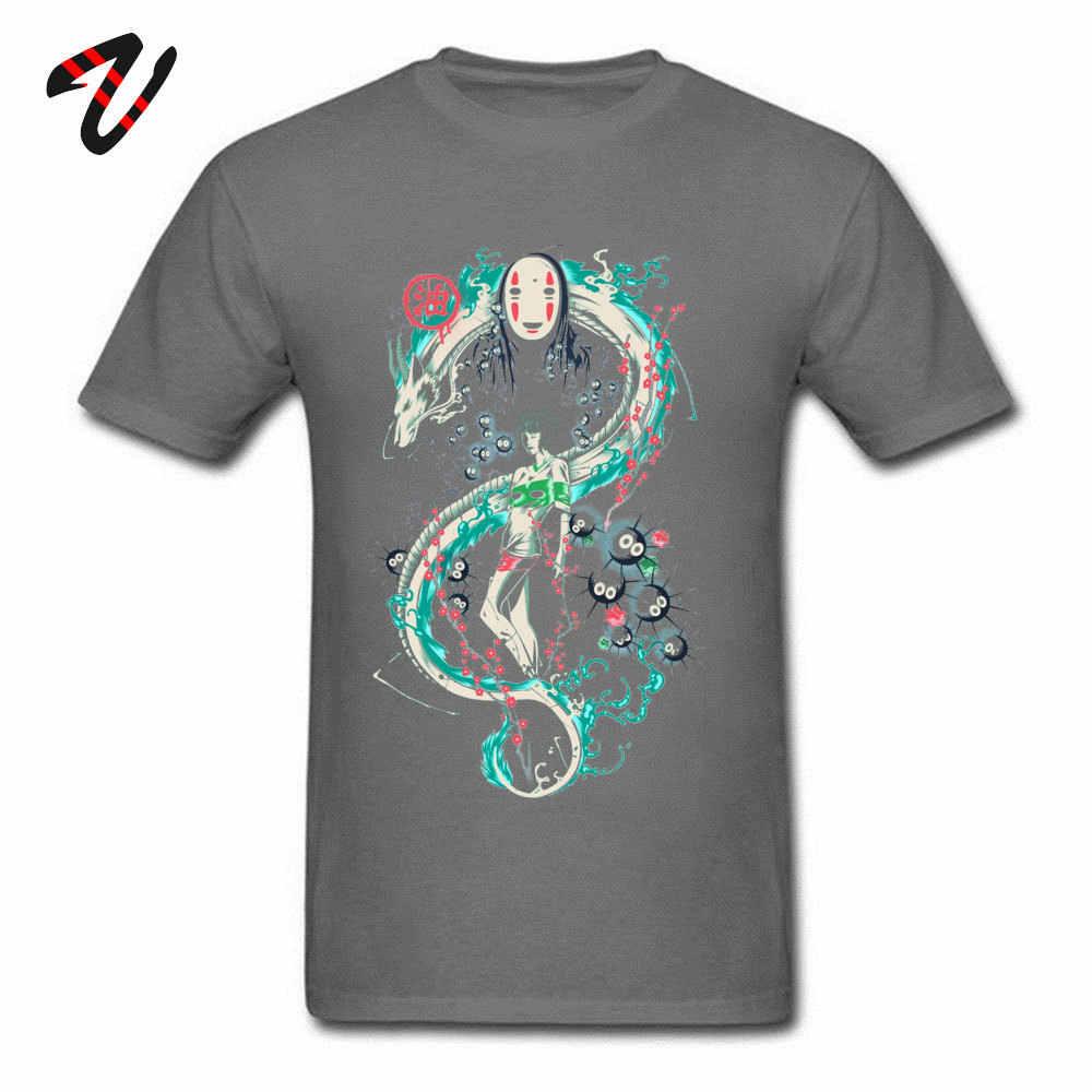 Spirited Away No Face Studio Ghibli Anime Tshirts Mononoke Japanese Totoro Funny T Shirt Dragon Ball Z Kodama Men Cotton Aliexpress