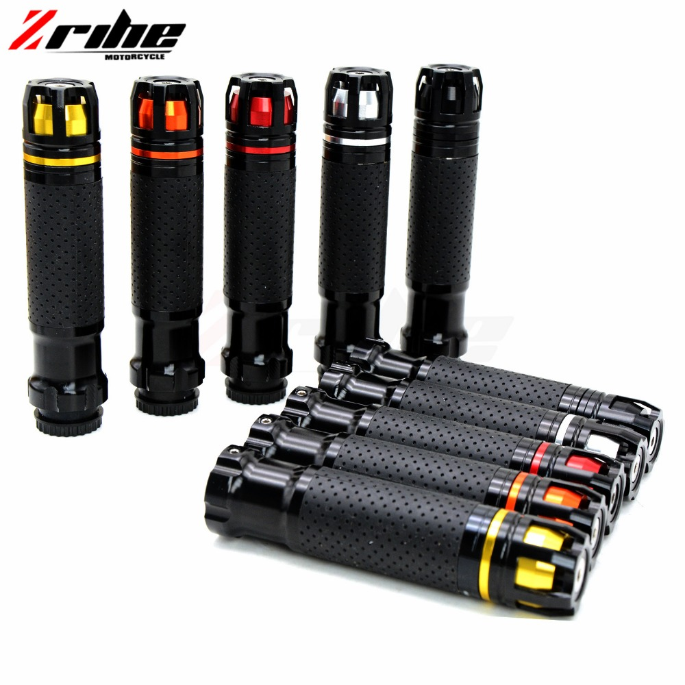 for Universal 7/8'' 22mm Fiber Motorcycle handlebar High Quality Aluminum Handlebar Hand Grips for KTM 1190 Adventure R 1290
