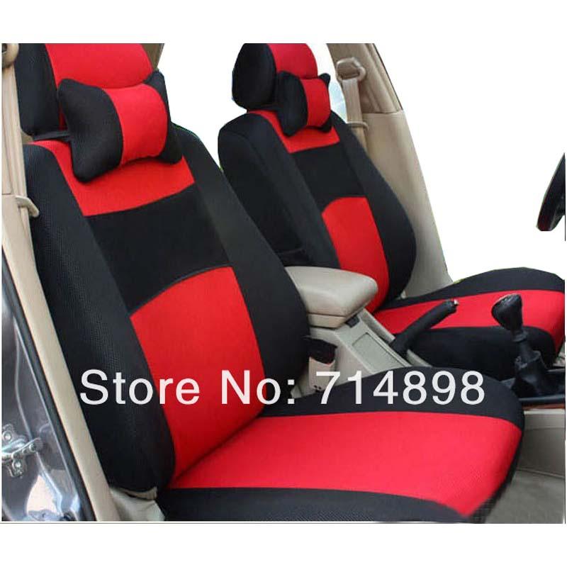 Couverture de siège de voiture universel pour 5 siège standard 2/4/5 appuie-tête arrière siège retour de split 40/60 ou pas de voiture accessoire intérieur housse de siège
