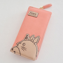 My Neighbor Totoro Femme Zip Two Fold Long Wallet Purse – 5 Colors Available