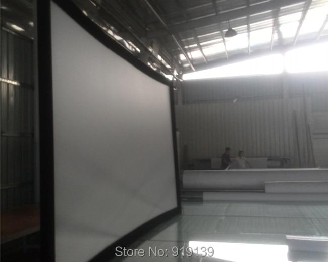 Pantalla Full HD cine tamaño 130 pulgadas fijo curvo Marcos ...