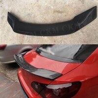 Carbon fiber Rear Duck spoiler for Volkswagen VW Passat CC Sandard 2009 2016 R Style Boot Lip Wings Trim Sticker