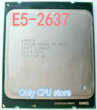 Intel Xeon CPU E5-2637 SR0LE 3.00GHz 2-Core 5M LGA2011 E5 2637 processor