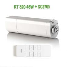 Dooya автоматический электрический занавес двигатель KT320E/45 Вт, электронный двигатель+ Dooya DC2760 2 канала излучатель пульт дистанционного управления