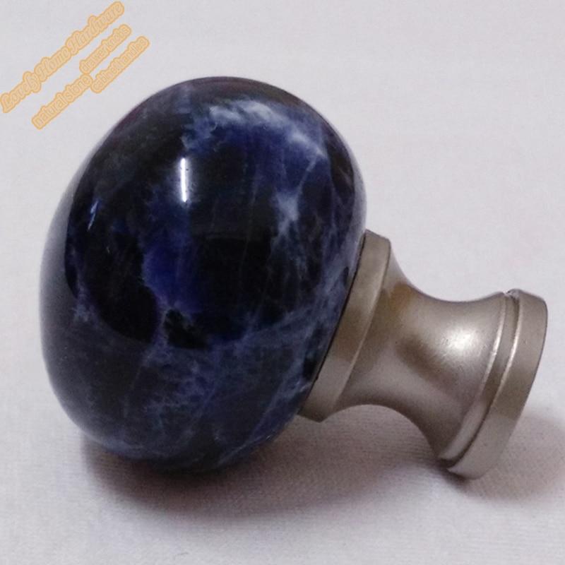 Aliexpress.com : Buy Natural Stone Furniture Hardware,30mm Blue ...