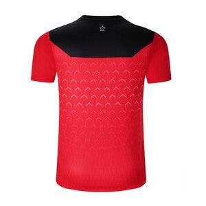 Image 3 - Nuevo Dragón de CHINA camisetas de tenis de mesa hombres, camisetas de ping pong, camisetas de tenis de mesa chinas, ropa de tenis de mesa camisas deportivas