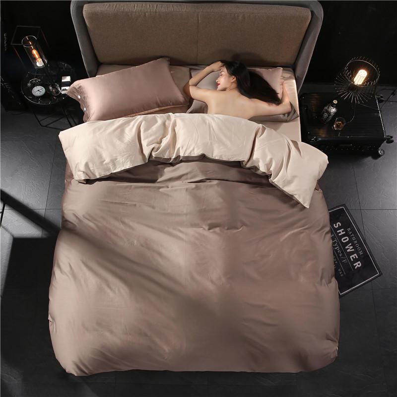 綿 100% ツイン寝具セットクイーンキングサイズ寝具セットソフト布団カバーベッドシートセットキルトカバーリンゲデは edredon 点灯 ropa デ cama  グループ上の ホーム&ガーデン からの 寝具セット の中 1
