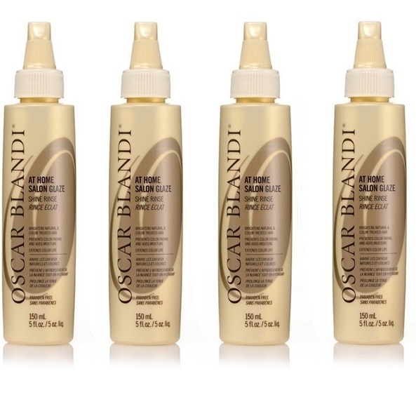 Oscar Blandi At Home Salon Glaze Shine Rinse, 5 Oz (Pack of 4) oscar blandi oscar blandi os003lucdz11