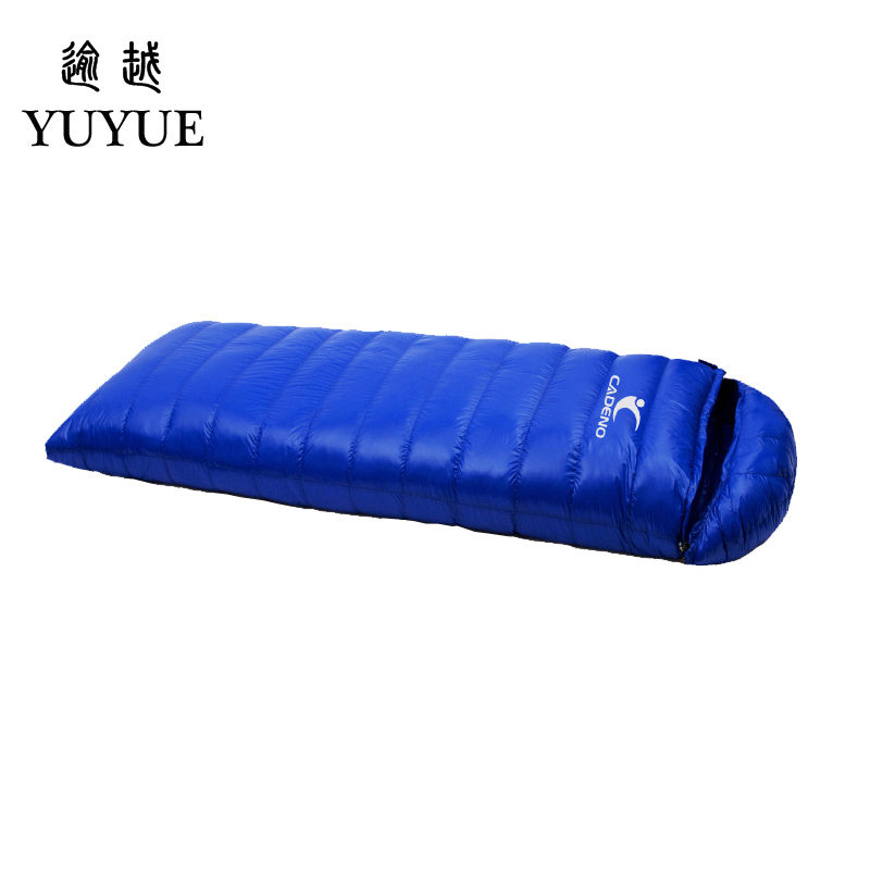 Tourism camping equipment sleeping bag adult  for tourist camping tent envelope type survival sleeping bag down sleeping bag 1