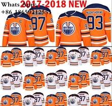 a9759841d Edmonton Oilers 97 Connor McDavid Hockey Jerseys 93 Ryan Nugent-Hopkins 27  Milan Lucic jersey