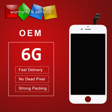 10pcs Grade OEM No Dead Pixel For iPhone 6 lcd Display With Touch Screen Digitizer replacement All Tested One By One