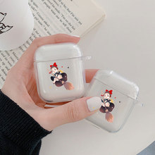Little witch Case For Apple airpods case Cover Cute Wireless Bluetooth Earphone Case For Airpods Headphone Protective Cover цена и фото