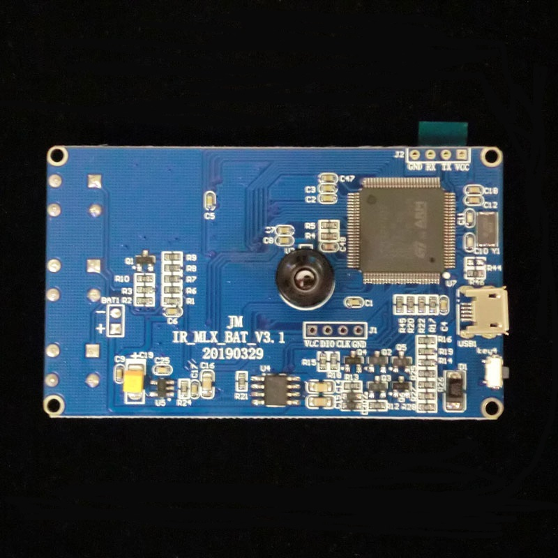 Image 2 - 1 pcs x  MLX90640 Infrared Thermal Imager development evaluation board without shell and battery-in Integrated Circuits from Electronic Components & Supplies