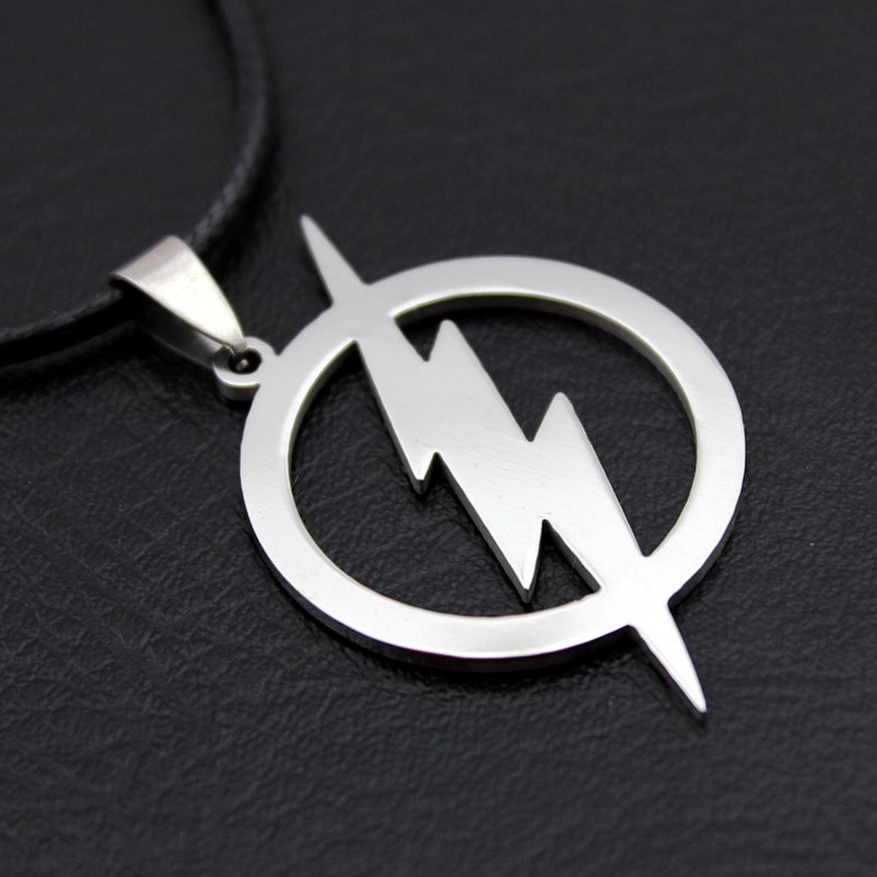 The Flash Stainless Steel Pendant Necklace