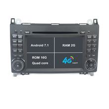2G RAM Android 7.1 car dvd player for Mercedes Benz Class B200 W169 W245 W639 Viano Vito Sprinter Car GPS DVD Navigation Stereo