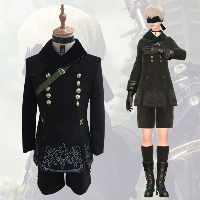 Athemis 9S NieR 9 Type Halloween Uniforms Automata Cosplay Costumes YoRHa No