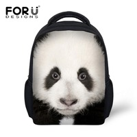 Милые Винтажные белые панды печати рюкзак 3D животное детей школьные рюкзаки Mochila дети детский сад рюкзак девушки Bagpack