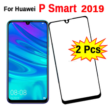 2pcs Protective Glass On P Smart 2019 Tempered Safety Glass For Huawei P Smart Psmart 2019 P Smart2019 Screen Protector HD Clear