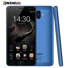 Гретель GT6000 двойной камеры заднего вида Мобильный телефон 5.5 «HD MT6737 Quad Core Android 7.0 2 ГБ + 16 ГБ 13MP 6000 мАч смартфон отпечатков пальцев