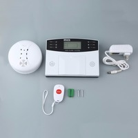 GSM LCD Wireless 433 Smart Burglar Security Alarm System Detector Sensor Kit Remote Control Auto Dial