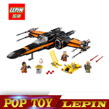 Lepin 05004 845pcs Star Set Wars First Order Poe s X wing Fighter Assembled Toy Building