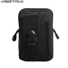 Sports Entertainment - Sport Bags - Tactical Molle Belt Waist Bag Utility Pouch Military Outdoor Climbing Pocket Phone Case Pouches Pack For Iphone 7 Hunting Bags