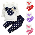 Children Baby Girls Clothing 2017 Kids Girls Clothes Spring Suits Casual Girls Clothing Set Fashion Clothes for Girls 1-5Years