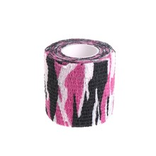 Tattoo Self-adhesive Non-woven Elastic Sport Tape Bandage Grip Tube Cover Wrap(China)