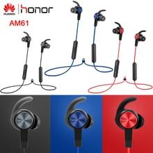 Оригинальные беспроводные наушники Honor AM61 с IP55 уровнем Bluetooth 4,1 HFP/HSP/A2DP/AVRCP для Honor huawei Xiaomi Vivo