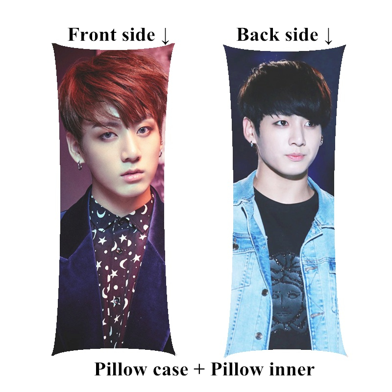 Boyfriend JungKook Long pillow kpop Bangtan Boys decorative Body Pillows including inner customize Gift