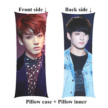 Boyfriend JungKook Long pillow kpop Bangtan Boys decorative Body Pillows including inner customize Gift(China)