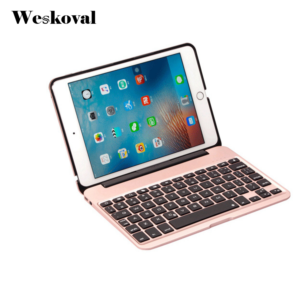 Wireless Keyboard For iPad Mini 4 Bluetooth Case For iPad Mini 4 7.9 inch Tablet Aluminum Alloy Stand Cover Flip Capa +Stylus laptop keyboard for hp for envy 4 1014tu 4 1014tx 4 1015tu 4 1015tx 4 1018tu backlit northwest africa 692759 fp1 mp 11m6j698w