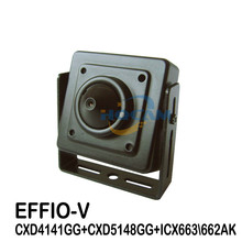 1/3″ SONY Effio-V 800TVL True WDR Miniature Square Camera 3.7mm Lens OSD Function 4141+663662 for ATM Camera According face